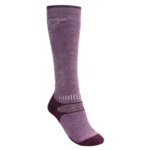 Bridgedale All-Mountain Snowsport Socks - Merino Wool (For Women) in Ppl/Dppl - 2nds