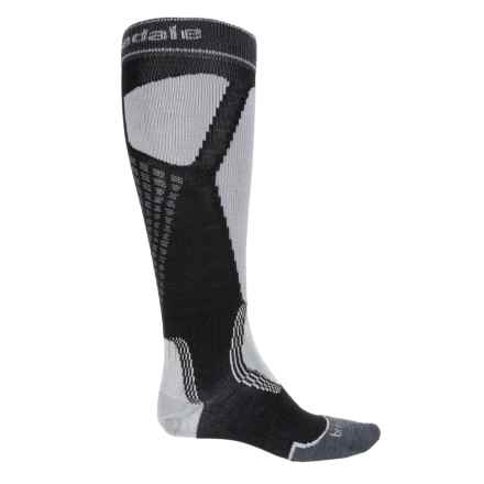 Bridgedale Alpine Tour Socks - Merino Wool, Mid Calf (For Men) in Black/Light Grey - 2nds