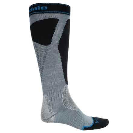 Bridgedale Alpine Tour Socks - Merino Wool, Mid Calf (For Men) in Stone/Black - 2nds