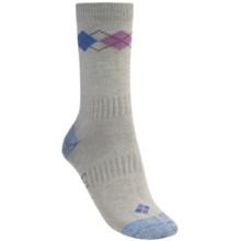 Bridgedale Argyle Socks (For Women) in Light Blue - 2nds