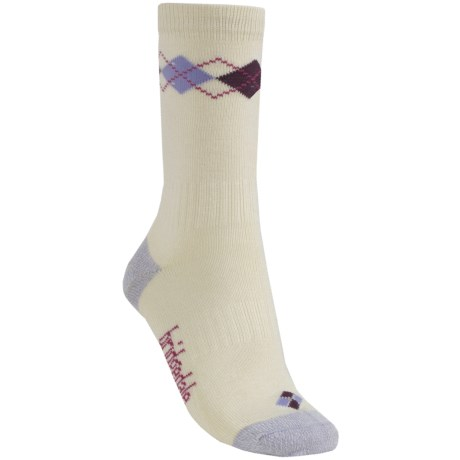 Bridgedale Argyle Socks (For Women) in Lilac