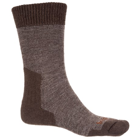 Bridgedale Ascent Socks - CoolMax®, Midweight (For Men and Women) in Chestnut