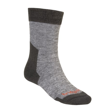 Bridgedale Ascent Socks - CoolMax®, Midweight (For Men and Women) in Grey Heather/Dark Grey