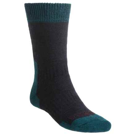 Bridgedale Ascent Socks - CoolMax®, Midweight (For Men and Women) in Navy - 2nds