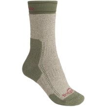 Bridgedale Ascent Socks - CoolMax®-Wool (For Women) in Olive Marl - 2nds