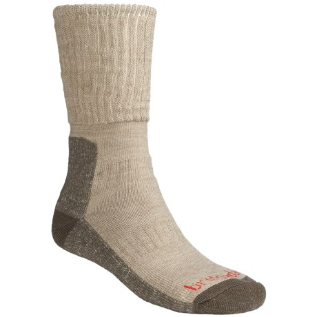 Bridgedale Backpacker Socks - Merino Wool (For Men and Women) in Blue/Grey