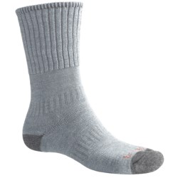 Bridgedale Backpacker Socks - Merino Wool (For Men and Women) in Gry/Dgry