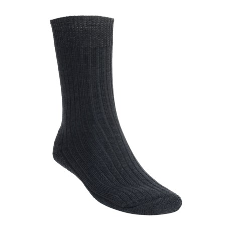 Bridgedale Blaxnit Lowland Socks - Wool (For Men and Women) in Charcoal