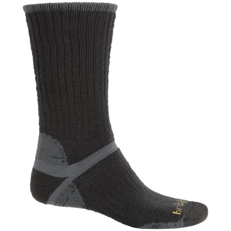 Bridgedale Classic Hiker Boot Socks - Wool, Crew (For Men) in Black/Grey