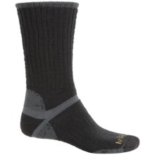 Bridgedale Classic Hiker Boot Socks - Wool, Crew (For Men) in Black/Gunmetal - 2nds
