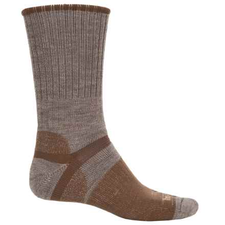Bridgedale Classic Hiker Boot Socks - Wool, Crew (For Men) in Brown - 2nds
