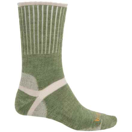 Bridgedale Classic Hiker Boot Socks - Wool, Crew (For Men) in Green Heather - 2nds