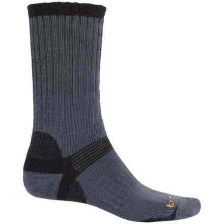Bridgedale Classic Hiker Boot Socks - Wool, Crew (For Men) in Gunmetal/Black - 2nds