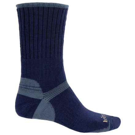 Bridgedale Classic Hiker Boot Socks - Wool, Crew (For Men) in Navy - 2nds