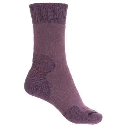 Bridgedale Comfort Summit Trekker Socks (For Women) in Aubergine - 2nds