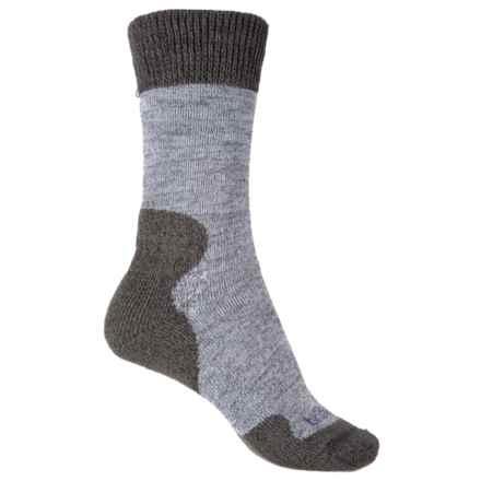Bridgedale Comfort Summit Trekker Socks (For Women) in Grey - 2nds