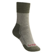 Bridgedale Comfort Summit Trekker Socks (For Women) in Olive Marl - 2nds