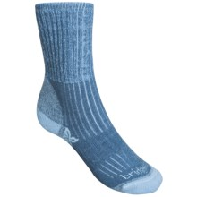 Bridgedale Comfort Trekker Socks - CoolMax®  (For Women) in Blue Grey - 2nds