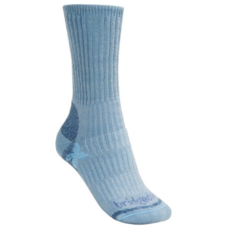 Bridgedale Comfort Trekker Socks - CoolMax®  (For Women) in Light Blue