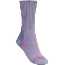 Bridgedale Comfort Trekker Socks - CoolMax®  (For Women) in Blue Grey
