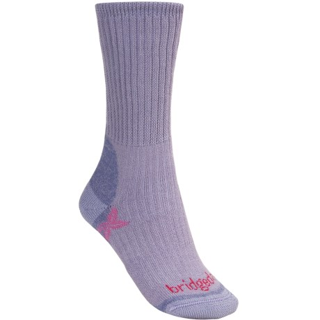 Bridgedale Comfort Trekker Socks - CoolMax®  (For Women) in Light Purple