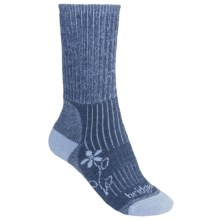 Bridgedale Comfort Trekker Socks - CoolMax®  (For Women) in Powder Blue - 2nds