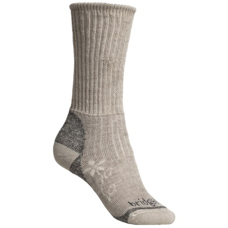 Bridgedale Comfort Trekker Socks - CoolMax®  (For Women) in Tan