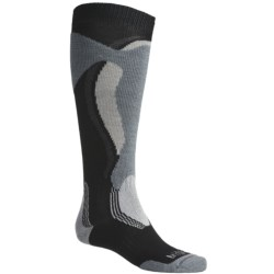 Bridgedale Control Fit Socks - Midweight, Merino Wool (For Men and Women) in Black/Stone