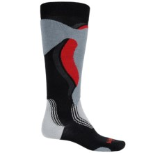 Bridgedale Control Fit Winter Sport Socks - Merino Wool, Over the Calf (For Men) in Black/Stone - 2nds