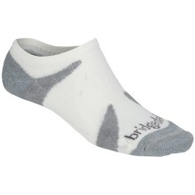 Bridgedale Cool Lo Socks - Lightweight (For Men and Women) in White/Gunmetal - 2nds