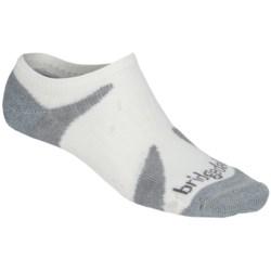 Bridgedale Cool Lo Socks - Lightweight (For Men and Women) in White/Gunmetal