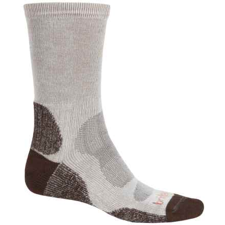 Bridgedale Cool-Max® Socks - Crew (For Men) in Brown/Grey - 2nds