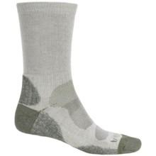 Bridgedale Cool-Max® Socks - Crew (For Men) in Natural/Eucalyptus - 2nds