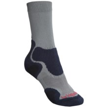 Bridgedale CoolFusion Light Hiker Socks (For Men) in Grey/Navy - Closeouts