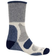 Bridgedale CoolFusion® Light Hiker Socks - Mid Calf (For Men) in Navy Heather/Natural - 2nds