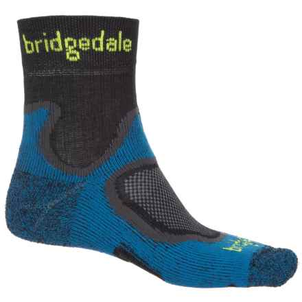 Bridgedale CoolFusion® Run Speed Trail Socks - Crew (For Men) in Blue - Closeouts