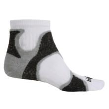 Bridgedale CoolFusion® Speed Demon Runnings Socks - Below the Ankle (For Men) in Grey/Black - 2nds
