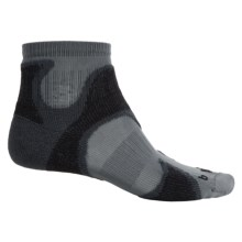 Bridgedale CoolFusion® Speed Demon Runnings Socks - Below the Ankle (For Men) in Gunmetal/Black - 2nds