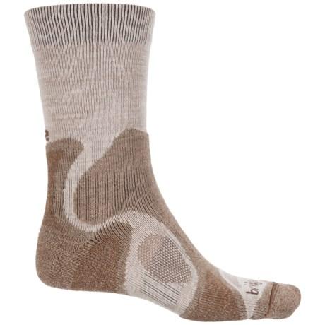 Bridgedale CoolFusion TrailBlaze Socks - Merino Wool, Crew (For Men) in Chino/Rope