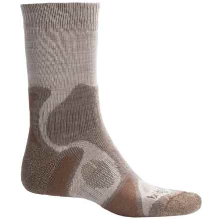 Bridgedale CoolFusion TrailBlaze Socks - Merino Wool, Crew (For Men) in Chino/Rope - 2nds