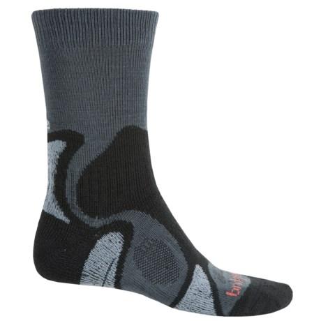 Bridgedale CoolFusion TrailBlaze Socks - Merino Wool, Crew (For Men)
