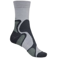 Bridgedale CoolFusion TrailBlaze Socks - Merino Wool (For Women) in Grey/Jade - Closeouts