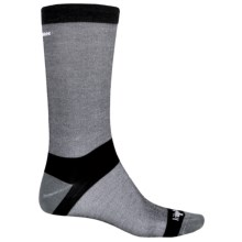 Bridgedale CoolMax® Classic Liner Boot Socks - Crew (For Men) in Grey Heather - 2nds