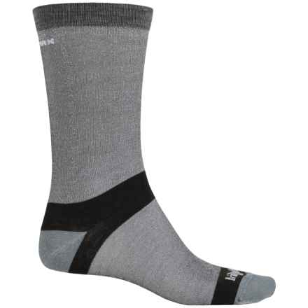 Bridgedale CoolMax® Classic Liner Boot Socks - Crew (For Men) in Grey - 2nds
