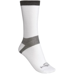 Bridgedale CoolMax® Liner Crew Socks - 2-Pack, Lightweight (For Women) in White