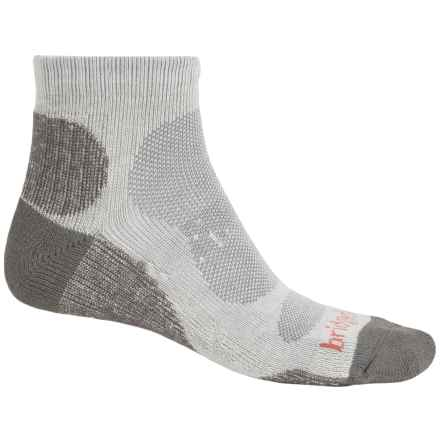 Bridgedale CoolMax® Lo Socks - Ankle (For Men) in Natural/Grey - 2nds