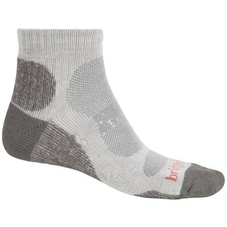 Bridgedale CoolMax® Lo Socks - Ankle (For Men) in Natural/Grey