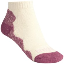 Bridgedale CoolMax® Lo Socks - Lightweight (For Women) in Sugar Pink - 2nds