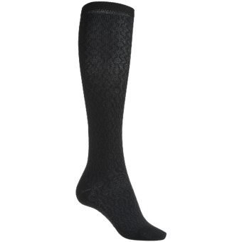 Bridgedale Copperhead Socks - Rayon, Knee High (For Women) in Black