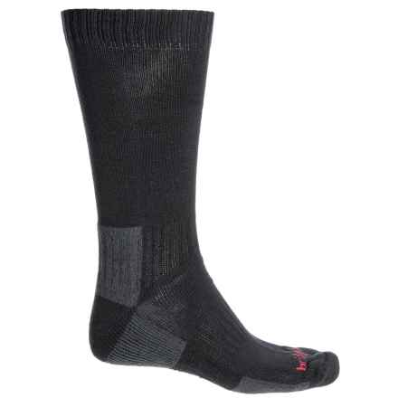 Bridgedale Cotton Socks - Crew (For Men) in Black - 2nds
